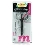 Manicare Extra Strong Straight Nail Scissors With Pouch Non Rusting Stainless