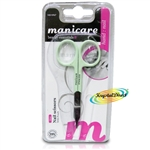 Manicare Nail Scissors MINT Stainless Steel Extra Fine Blades Precision Cutting