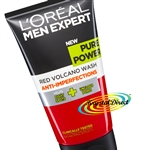 Loreal Men Expert Pure Power Red Volcano Wash 150ml