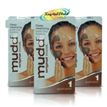3x Mudd Mud Face Mask SACHET ORIGINAL Cleansing Clay Pack
