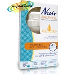 Nair Argan Oil Washable Roll-On Wax 100ml