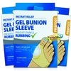 3x Profoot Soft Gel Bunion Sleeve Cushions Pad Prevent Rubbing From Shoes