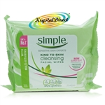 Simple Kind To Skin Cleansing Facial Wipes Vitamin Goodness