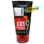 Loreal Studio Xtreme Hold No.9 Indestructible Hair Gel Elastic Resistance150ml