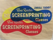Blue Rooster 1 Day Screen Printing Class Image