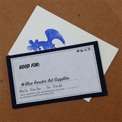 Blue Rooster Gift Certificate