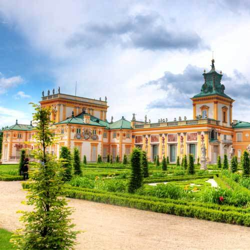 Warsaw Wilanow Palace and Park Tour