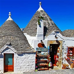 Bari Cruise Tours - The Roofs of Alberobello