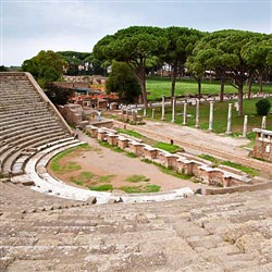 Civitavecchia Cruise Tours - Ostia Antica and Cerveteri