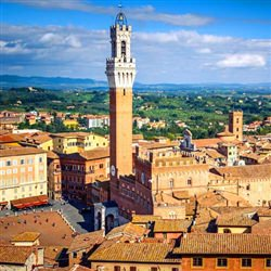 Siena and Monteriggioni - This tour is a great alternative to the Florence and Pisa tours that most cruise ship passengers take
