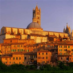 Siena and San Gimignano - This option explores both Siena and San Gimignano