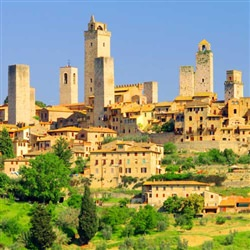 San Gimignano and Volterra - This off-the beaten path tour visits San Gimignano and Volterra, two delights which are often overlooked