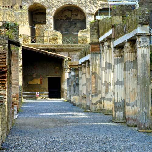 Naples Cruise Tours - Herculaneum and the Amalfi Coast