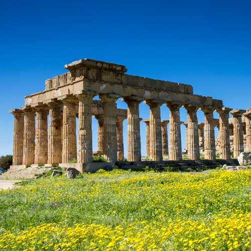 Palermo Cruise Tours - Selinunte Archeological Park