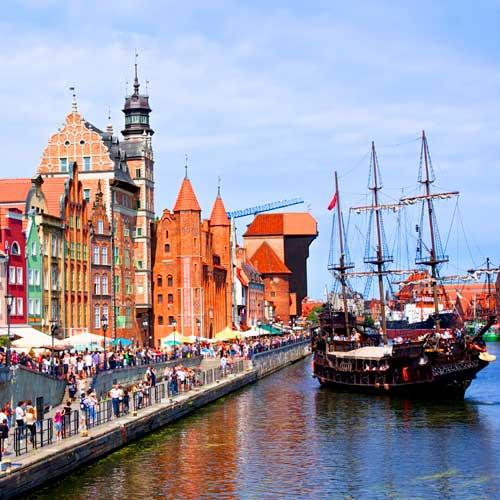 Gdansk Cruise Tours - The Old Town of Gdansk
