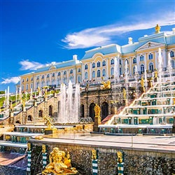 St. Petersburg Cruise Tours - Peterhof and the Grand Palace