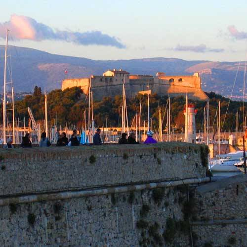 Antibes Cruise Tours - Evening in the French Riviera
