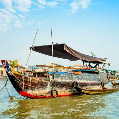 Nha Trang Shore Excursions - Life Along the Nha Trang River and City