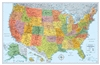 US Wall Map Signature Edition Rand McNally