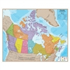 Canada Laminated Wall Map