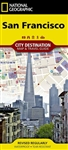 San Francisco National Geographic Destination City Map
