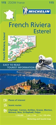 115 France French Riviera Esterel Michelin