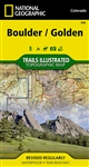 100 Boulder Golden National Geographic Trails Illustrated