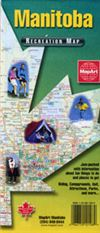 Manitoba Recreation Map CCC Map