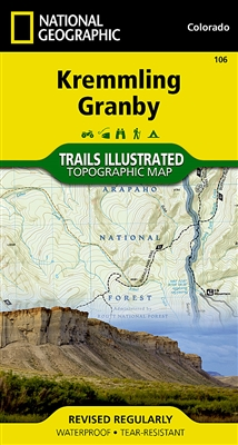 106 Kremmling Granby National Geographic Trails Illustrated