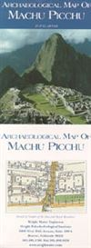 Archaeological map of Machu Picchu