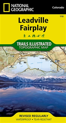 110 Leadville Fairplay National Geographic Trails Illustrated