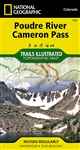 112 Poudre River Cameron Pass National Geographic Trails Illustrated