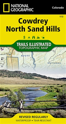 113 Cowdrey North Sand Hills National Geographic Trails Illustrated