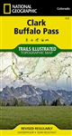 117 Clark Buffalo Pass National Geographic Trails Illustrated