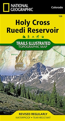 126 Holy Cross Ruedi Reservoir National Geographic Trails Illustrated