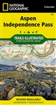 127 Aspen Independence Pass National Geographic Trails Illustrated