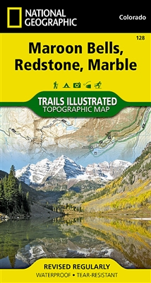 128 Maroon Bells Redstone Marble National Geographic Trails Illustrated
