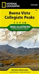 129 Buena Vista Collegiate Peaks National Geographic Trails Illustrated