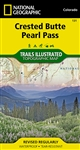 131 Crested Butte Pearl Pass National Geographic Trails Illustrated