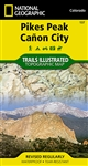 137 Pikes Peak Canyon City National Geographic Trails Illustrated
