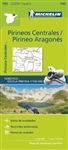 145 Spain Pyrenees Centrales Michelin Map