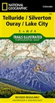 141 Telluride Silverton Quray Lake City National Geographic Trails Illustrated