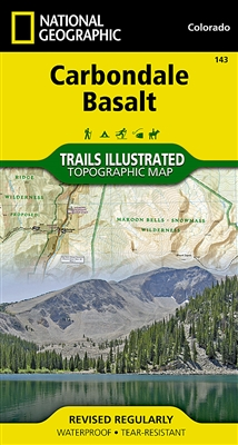143 Carbondale Basalt National Geographic Trails Illustrated
