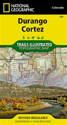 144 Durango Cortez National Geographic Trails Illustrated