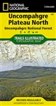 147 Uncompahgre Plateau Nouth National Geographic Trails Illustrated