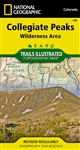 148 Collegiate Peaks Wilderness Area National Geographic Trails Illustrated