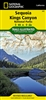 205 Sequoia Kings Canyon National Parks National Geographic Trails Illustrated
