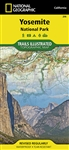 206 Yosemite National Park National Geographic Trails Illustrated