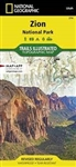 214 Zion National Park National Geographic Trails Illustrated