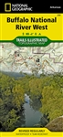 232 Buffalo National River West National Geographic Trails Illustrated